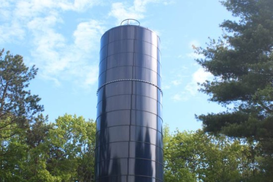 Standpipe Road water tower