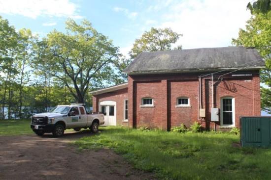 brick pumping station